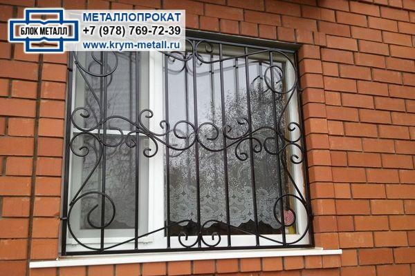 Металлические решетки на окна Севастополь, Крым